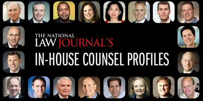 National Law Journal in-house counsel profiles